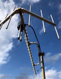 我が家に設置した八木式アンテナ