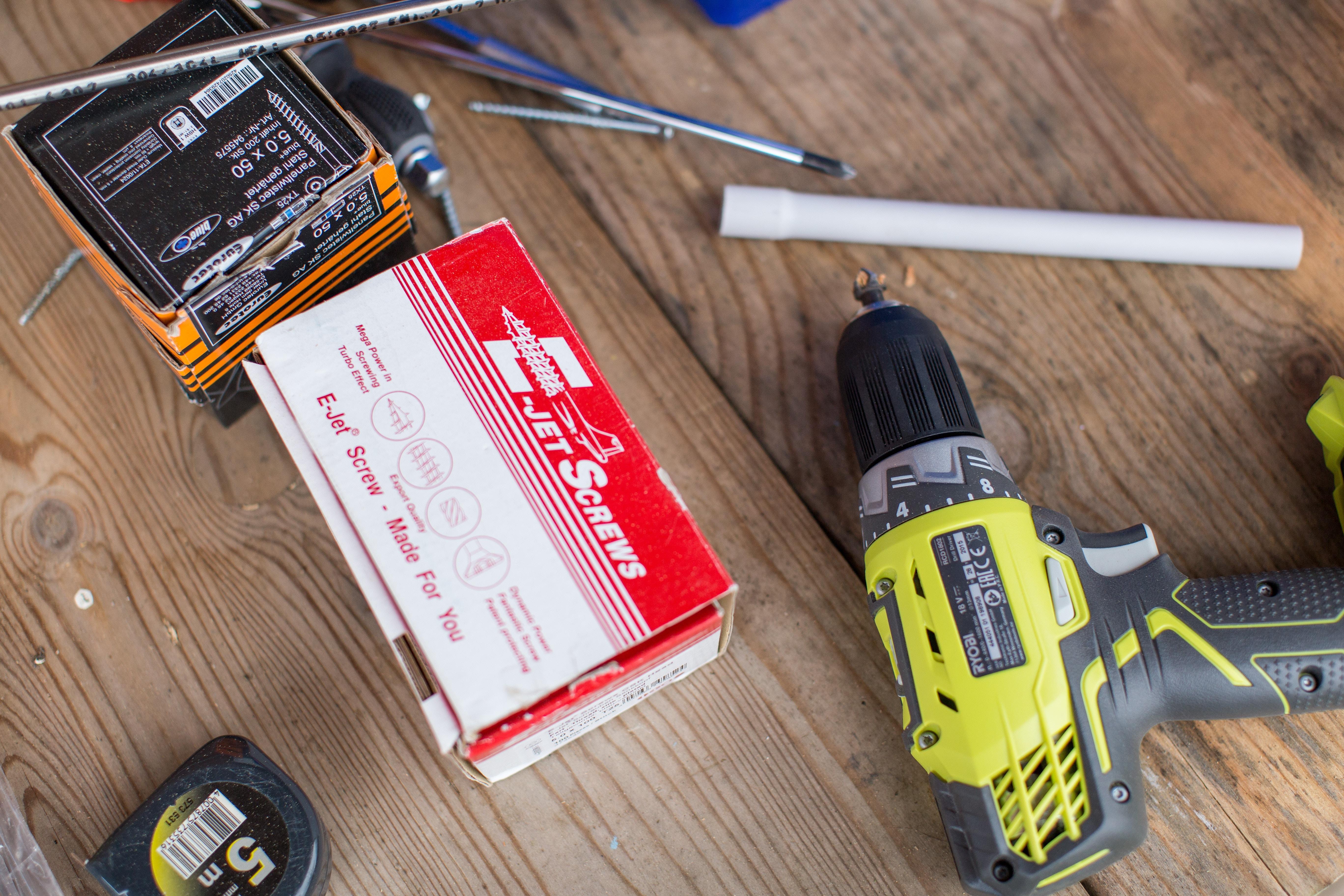 DIYを始めよう!おすすめ電動工具セット